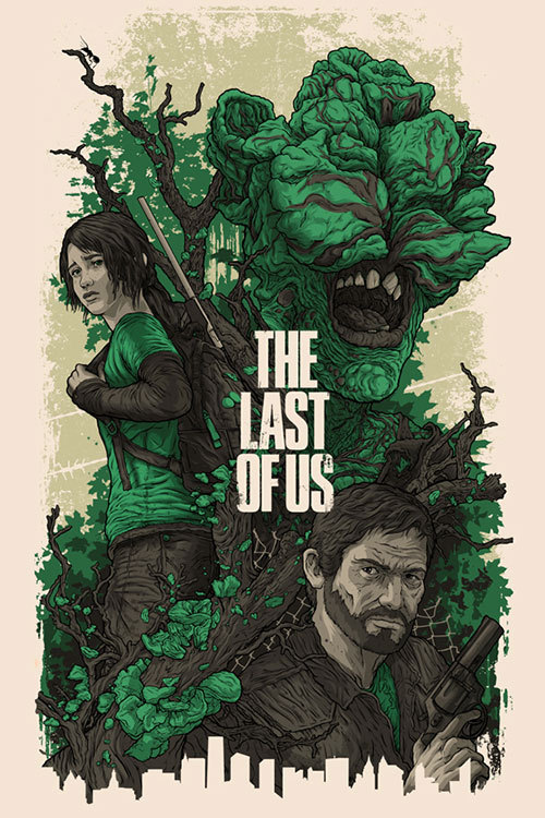 gamefreaksnz:  Preview | The Last of Us hands-on  Gamefreaks gets hands on with Naughty Dog's terrifying post-apocalyptic adventure.  Artwork courtesy of Alexander Iaccarino More: The Last of Us  I can't wait to waste how ever many hours playing this game