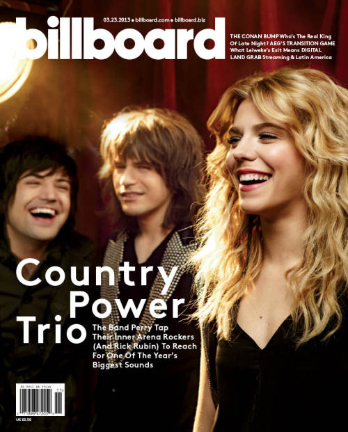 Get a first look at The Band Perry on the cover of our latest issue! Be on the lookout for the cover story on Billboard.com tomorrow, then order the issue at OrderBillboard.com.