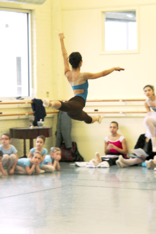 ibelieveinballet:  Helen Watson in rehearsal a few weeks ago