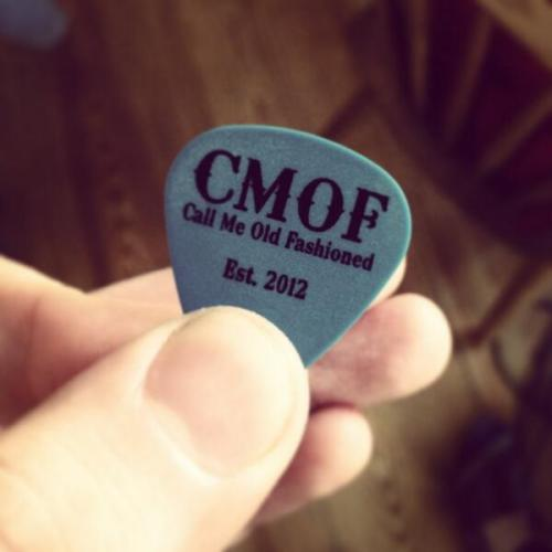CMOF guitar picks! :D