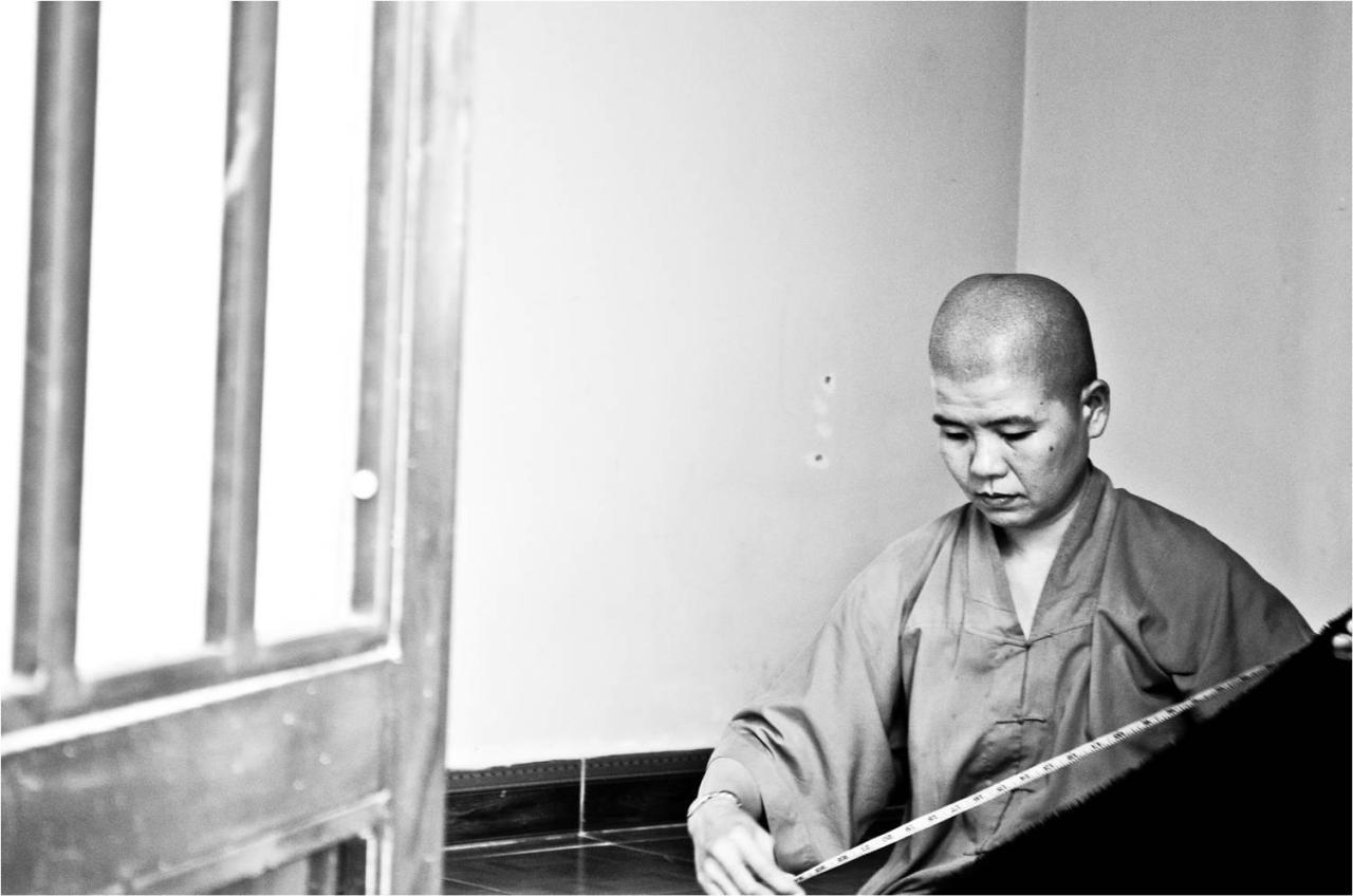 Female Monk, Da Lat, Vietnam