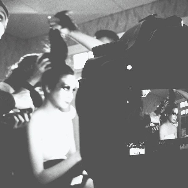 "#sneakpeek vid. shot ""eyelash"" by: adi adrian #bw #beauty"