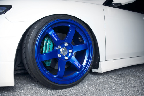 jdmlifestyle:  F-Zero TE37s x Brembo Photo By: Lam Le