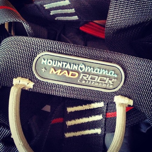 super stoked on my new harness @expectingadventure @madrockclimbing