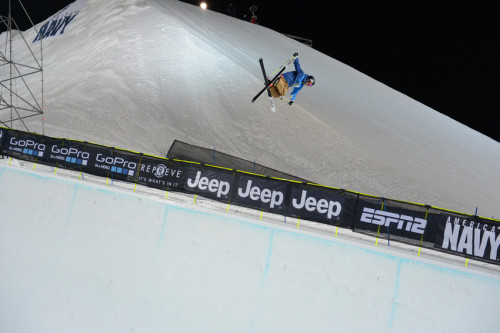 Defending champ, David Wise, took the top spot in Ski SuperPipe Elims. Now back to the pipe for Snowboard SuperPipe Elims and Snowmobile Freestyle to close out night one!  - Tune in at 9pm ET on ESPN