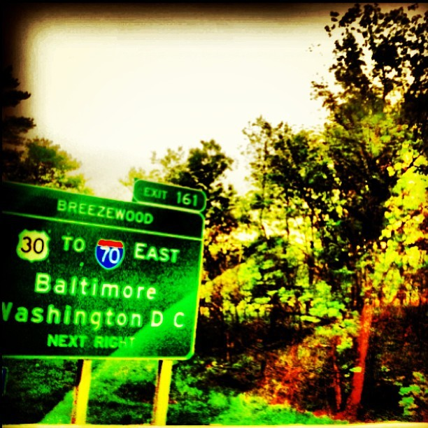 Passing through the outskirts of the #DC #Baltimore area. Next up, #Philadelphia! Then, #newyork!