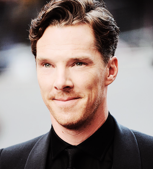 Benedict Cumberbatch attends the GQ Men Of The Year awards on September 2, 2014 in London. (x)