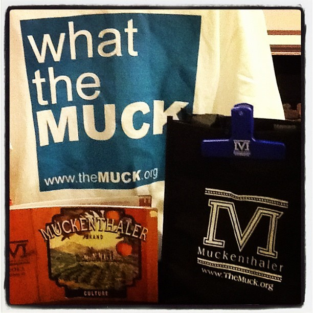 New Muck merchandise! Stop by to check it out!