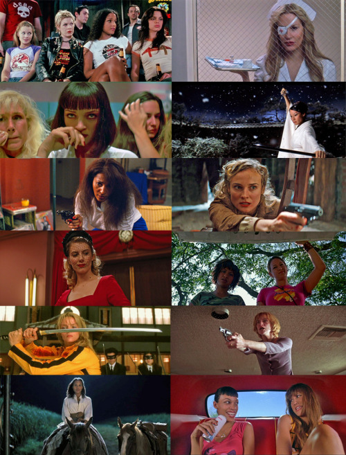 the women of quentin tarantino