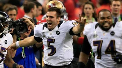 Congratulations Ravens, You're the Subject of Cockamamie Rumors The Baltimore Ravens' Super Bowl victory was accompanied by the typical round of festivities: late night television appearances, magazine covers, and a little extra love from the national media. Unfortunately, the media attention's been short on glowing accolades and high on cockamamie rumors of impending salary cap doom. Don't get sucked into the vortex Ravens fans. Peter King, a normally reputable NFL writer for SI.com, stirred the pot earlier this week with the ridiculous notion that Ravens' QB Joe Flacco could go to the Cleveland Browns as a free agent. King laid out a flawed, though factually plausible, scenario in which the Browns could exact the ultimate revenge on the Ravens and steal the Super Bowl MVP quarterback. Yes, Flacco is set to become an unrestricted free agent in March, but the Ravens have publicly stated numerous times over the past few weeks that Flacco isn't going anywhere. Continue Reading