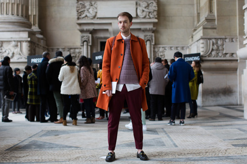 "The Sartorialist: ""For men, there's a way to wear color that doesn't scream ""I'm wearing color!"""""