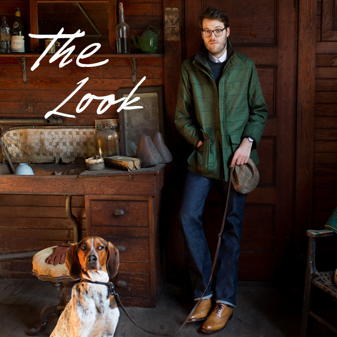 The Look New England antiques dealer, Mr Luke Kelly, invites us to his New Hampshire showroom and models some of the season's best country pieces.  Read & Shop > http://mr-p.co/YuX5AA
