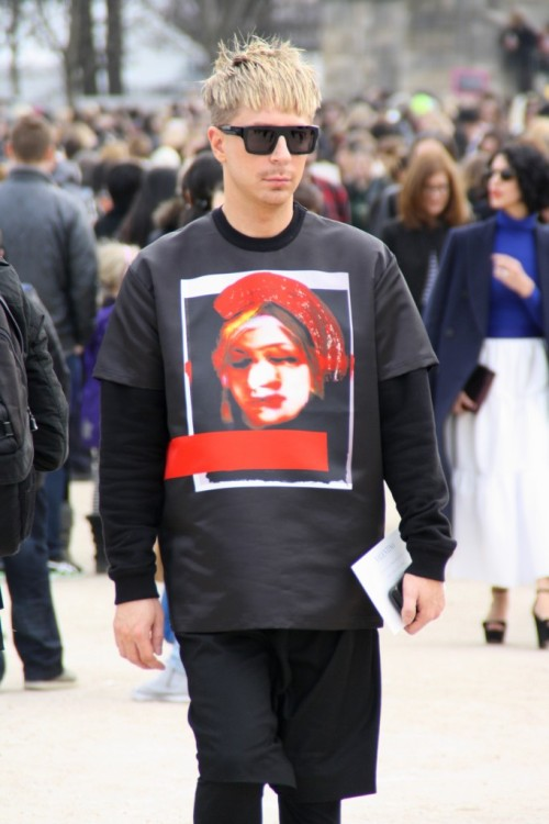 @KyleEditor at Paris Fashion Week  Givenchy