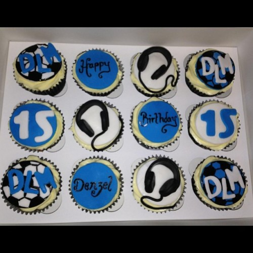 #Music 🎶 and #Football ⚽ #Cupcakes     For orders please call 07966406400 or email info@acupfull.co.uk  All prices and sizes on the website www.acupfull.co.uk   #cake #baking #yum #yummy #ACupFull #food #Foodporn #instafood #sweet #handmade #homemade #creative #iwant #instadaily #instagood #love #photooftheday #follow #wow #amazing #dessert #birthday #birthdaycake #beautiful #igers