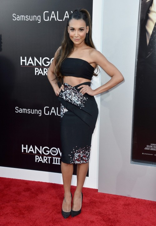 Love it Or Chuck It? Naya Rivera in Donna Karan At the Hangover Part 3 Premiere in Cali  Love it Or Chuck It?