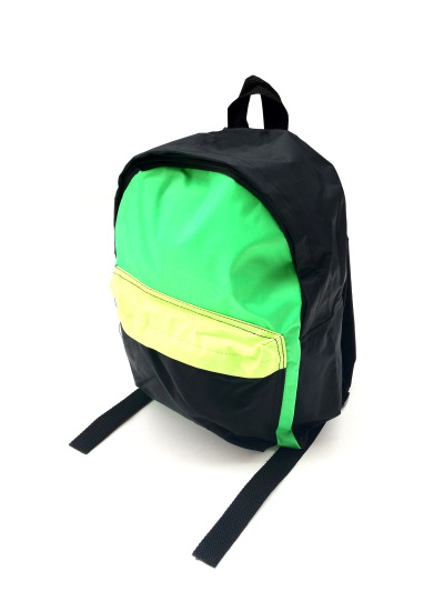 1980s Neon Duo-Tone Backpack - $35