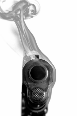 totallytransparent:  Semi Transparent Gun & SmokeMade by Totally Transparent