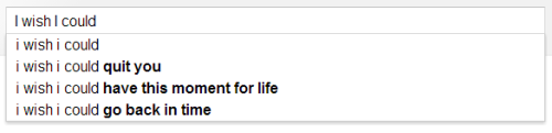 homewrecks:  google poetry is my new favourite thing
