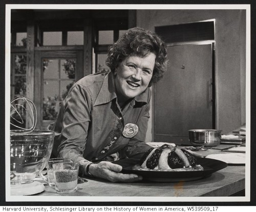 "Today, Feb. 11, Marks the 50th Anniversary of Julia Child's French Chef PBS icon Julia Child premiered her first cooking show ""The French Chef"" on February 11, 1963. The program was one of the first cooking shows on television, and set the foundation for food television as we know it today. Celebrate Julia Child's legacy with a special collection from PBS Food of full episodes, recipes, tributes, and a personality quiz. http://to.pbs.org/Ym96Do"