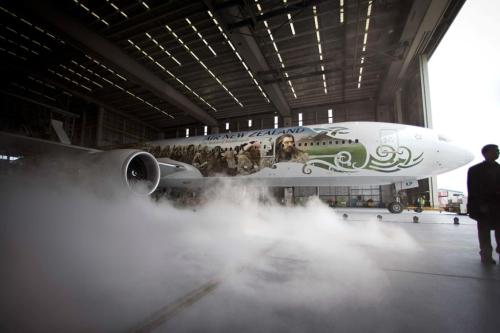 Air New Zealand unveils their Middle Earth Boeing 777 [x]