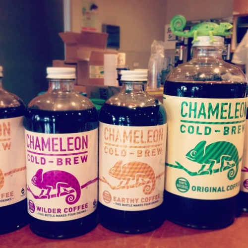 Delicious @chameleoncoffee cold brew at #techmunch #atx by @hollypostler http://instagr.am/p/WrqYz0OfX3/
