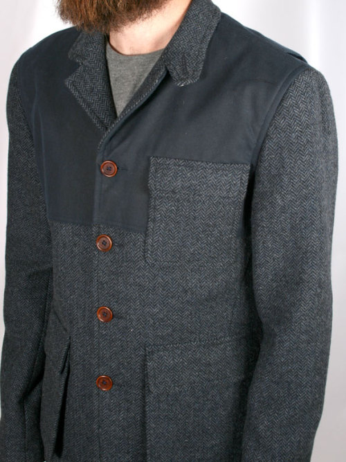 Common People Norfolk Herringbone Blazer