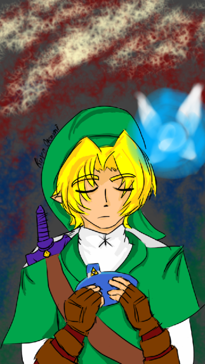 the legend of zelda ocarina of time oot link link oot link ocarina of time navi 30 day challenge day 1