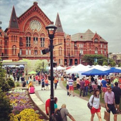 over-the-rhine:  @thecityflea #thisisotr  (at Washington Park)