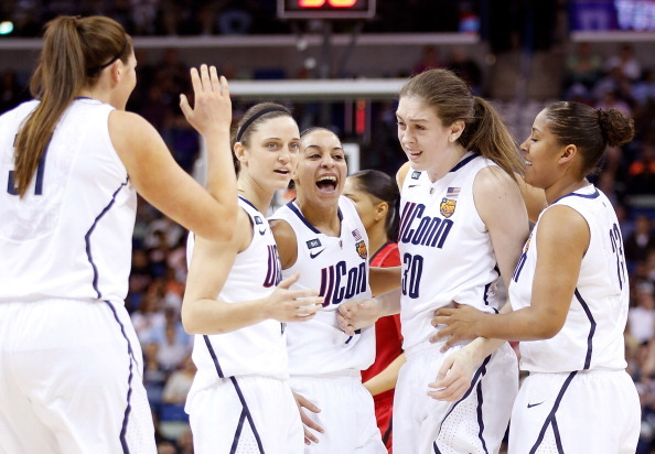 DOMINATION! UConn wins its EIGHTH National Championship with a 93-60 victory over Louisville.
