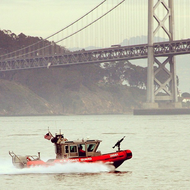#uscg #sanfrancisco #coastguard #baybridge