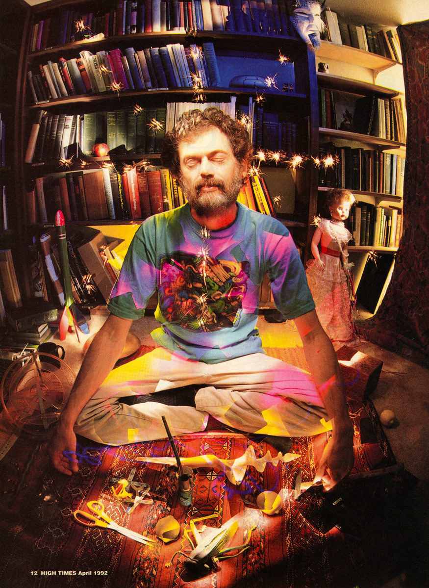 Terence McKenna by Chip Simons The High Times Interview