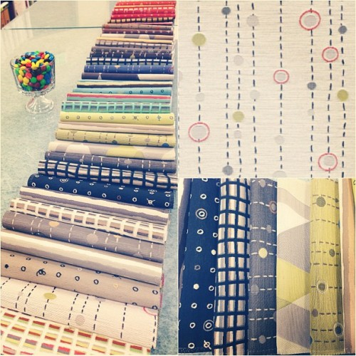 Yummy new patterns from @momtex in the library this morning! Love all these bright new hues.