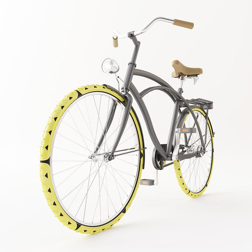 These snow chains by the Dutch(who else?) designer Cesar Van Rongen help you cycle in the snow!