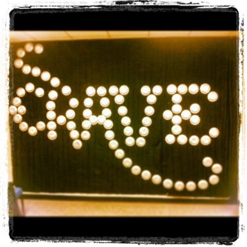 #CRAVE Jr High wall logo. Couldn't do it w/o my girl @stephrheams she's amazing! Can't wait to start having Jr high. Got such a vision for it. :)