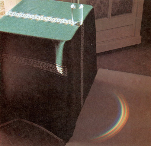Photograph from Francois Cherrier's book Fascinating Experiments In Physics, 1979 (via stopping off place)