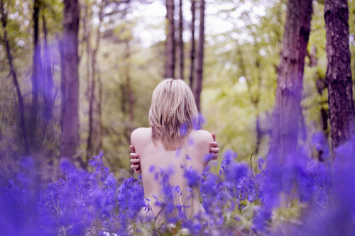 beingnaked:  Back in the bluebell forest by Once upon a time in Alex land..