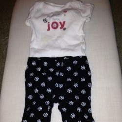 I just added this to my closet on Poshmark: Xmas outfit newborn. (http://bit.ly/108bhyY) #poshmark #fashion #shopping #shopmycloset