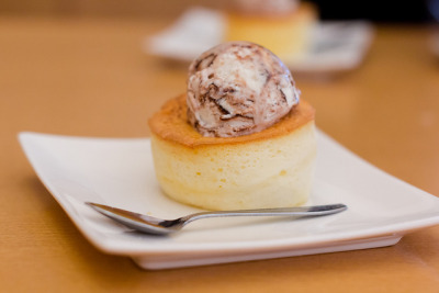 Marble Ice Cream on Souffle (Matsudo, Chiba, Japan) by t-mizo on Flickr.