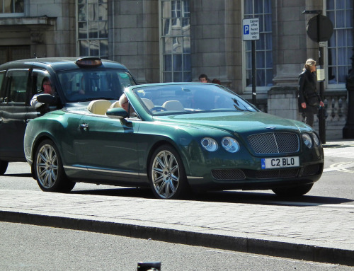 Money green Starring: Bentley Continental GTC (by kenjonbro)