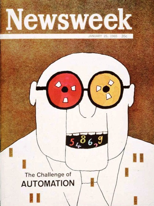 "One Of Our Favorite Covers: ""The Challenge Of Automation"", 1965"