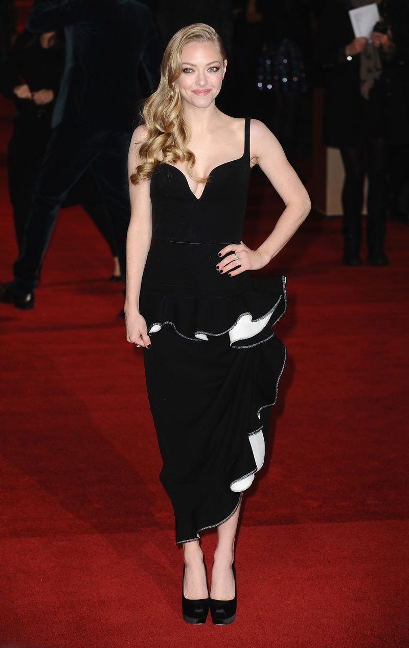 Mr. Blasberg's Best Dressed: Amanda Seyfried in Balenciaga Photo credit: Getty Images