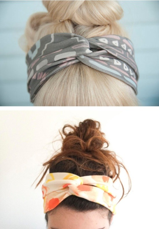 daisy-pickers:  DIY Head Wrap ♥ Found here! Click here for more DIY inspiration!