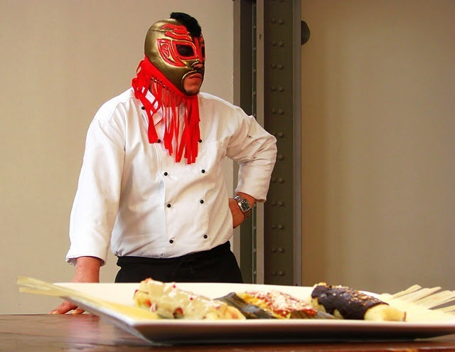 Because who doesn't want to get taco's from a man in a lucha libre mask.  Tamalespaceship ensures we'll never have to do that again.