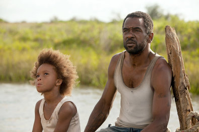 """Beasts of the Southern Wild's Dwight Henry, gives a performance of profound hurt, rage and sadness as [Hushpuppy's] father, Wink. Dying of an unnamed disease (perhaps because he lacks health insurance?) Wink flips between toughening, shielding and ignoring his daughter in preparing her for his inevitable demise. Watching a man clearly better suited to raising a boy than a girl struggle with this responsibility is one of the movie's chief joys. It is also unsettling to see such a hard-edge view of parenthood. As the center of a dreamy, surreal film that melds fantasy with neo-realism Wink is our connection to the harsh world outside their ramshackle home in a bayou neighborhood called the Bathtub. He is a respected leader in a community of misfits. On the mainland he's just another poor black man with anger issues. The director, Benh Zeitlin, and Lucy Alibar, co-writer of the screenplay with Mr. Zeitlin, created the platform for a performance that is uncomfortably human, unsentimental and not easily sympathetic. If judged crudely as positive or negative, Wink's behavior would be labeled, on the facts of the case, as negative. Which would be silly. Mr. Henry portrays a wounded warrior, a tough-love nurturer and a working-class man who is so rare on screen that, next to Hushpuppy's brightness, we can barely see his humanity. Don't expect to see a lot of characters as tough, dark and loving as Wink anytime soon. Writing and performances this brave are rare, magical occurrences. We can only hope for more.""  (via Black Characters Are Still Too Good, Too Bad or Invisible - NYTimes.com)"