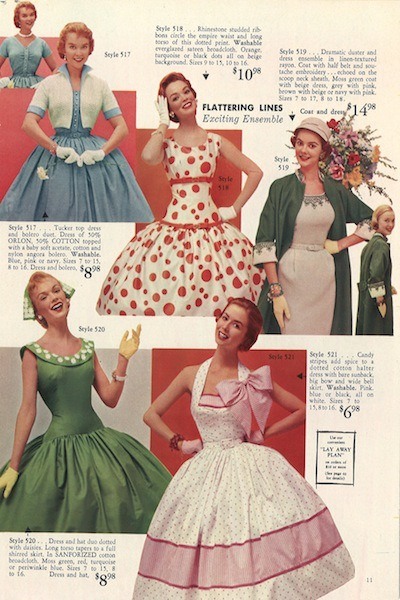 I'd wear all of the dresses; and the one with the giant bow at least twice a week!