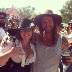 Thank you @jaredwatsondh for making my day at the ren faire!! (at Rennaisance Pleasure Faire)
