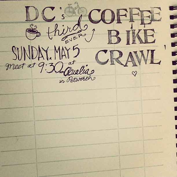 It's happening! #coffee #dc #wdc