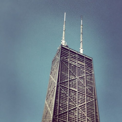 #hancock #observatory #tower #chicago #sky #skyscraper #illinois  (at John Hancock Observatory)