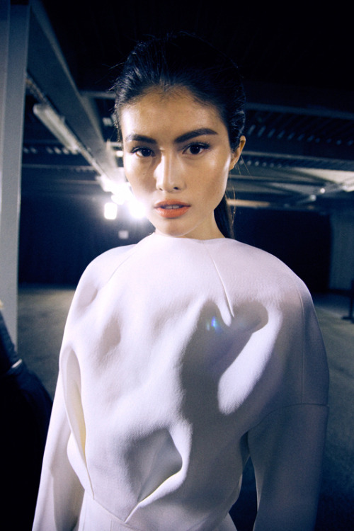 leacolombo:  Sui He at MUGLER A/W13 by Lea Colombo
