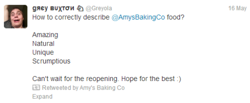 puffwiggly:  So Amy's Baking Company retweeted this amidst their insane ramblings I don't think they noticed the acronym
